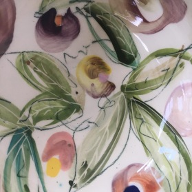 Spring blooms - bowl detail