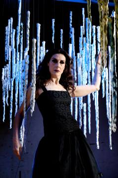 Moira Finucane and the icicles. The Rapture, 2017.